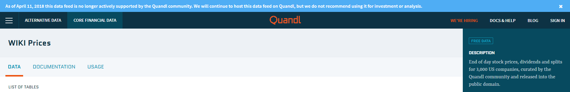 Replacing Quandl Wiki Data with Alpha Vantage - Backtest Rookies